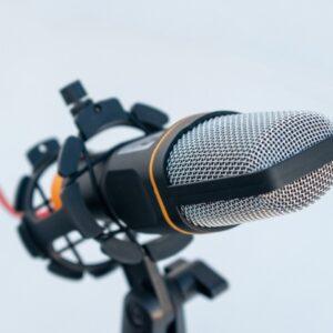 Voice over audio ads