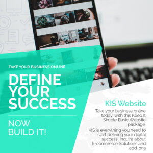 Define your success KIS Website offer