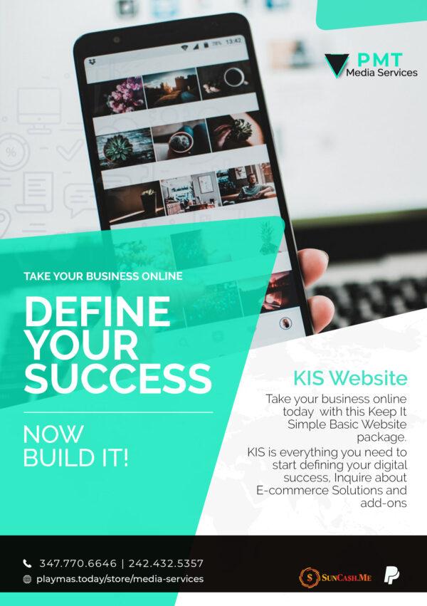 Define your success KIS Website offer